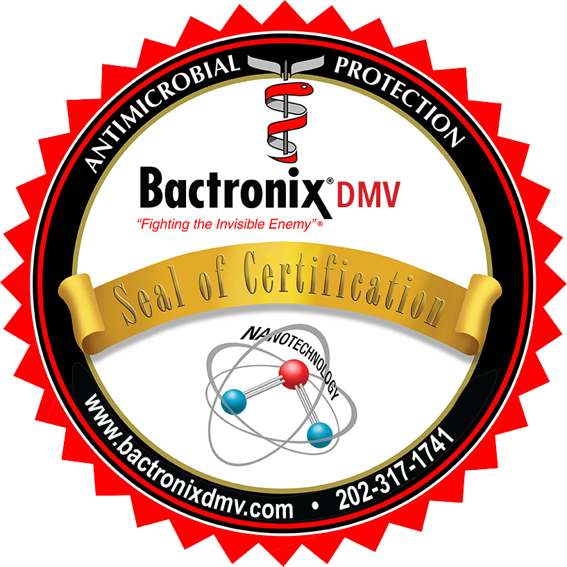 Certified Disinfected and Odor Free