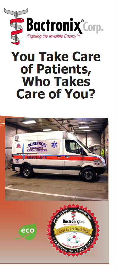 EMS Sanitization and Disinfecting - Ambulance and Emergency Vehicles
