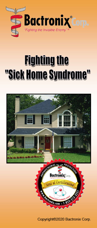 Sick Home Syndrome - Disinfecting your home - Real estate